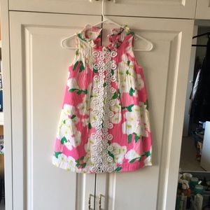Lilly Pulitzer Floral Cotton Shift Dress